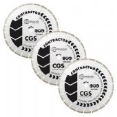 Spectrum CGS Contractor 115x22.22mm Diamond Blades - 3 Pack (X3-CGS-115/22)